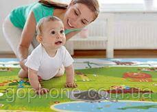 Игровой детский коврик для детский развлечений 90*150 см
