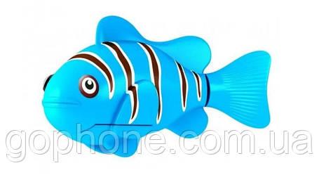 Нано - рыбка для аквариума на батарейках RoboFish (Синяя), фото 2