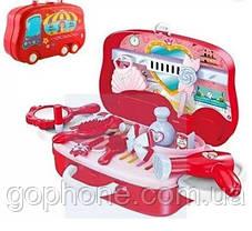 Набор для макияжа Happy Dresser детский с выдвижным чемоданчиком, фото 3