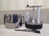 Электрошашлычница Помощница 11 шампуров + таймер + запасная колба