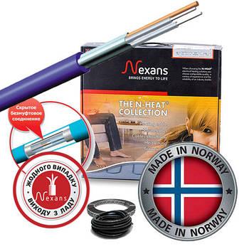 Двухжильный экранированный нагревательный кабель под плитку Nexans (Норвегия) MILLICABLE FLEX/2