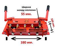 Діркопробивач пасічний універсальний зі знімними голками на 5 отворів