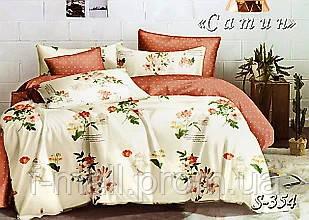 Комплект постельного белья Тет-А-Тет ( Украина ) Сатин семейное (S-354)