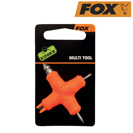 Универсальный инструмент для монтажа Fox Edges Micro Multi Tool Orange, фото 2