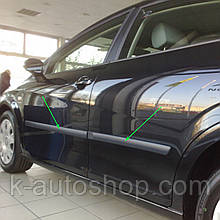 Молдинги на двери для Seat León II 2005-2013