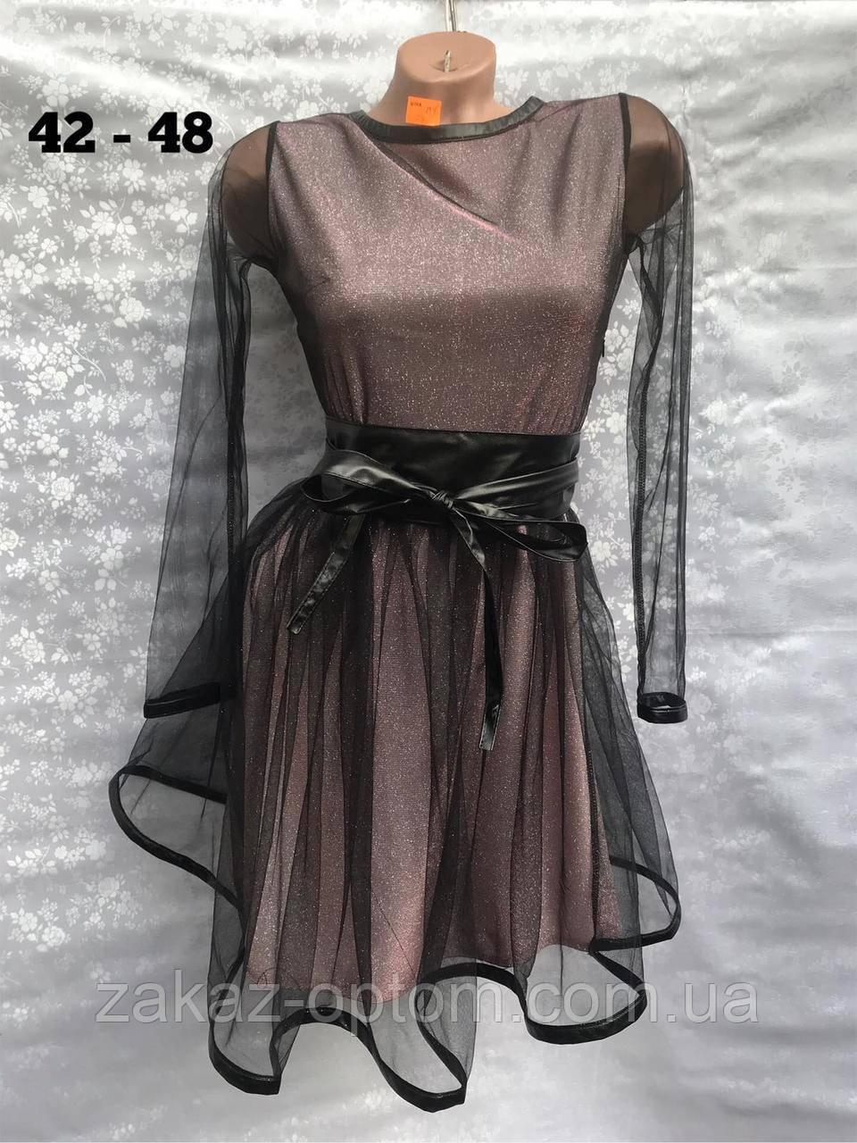 Платье женское оптом(42-48)Украина-64634