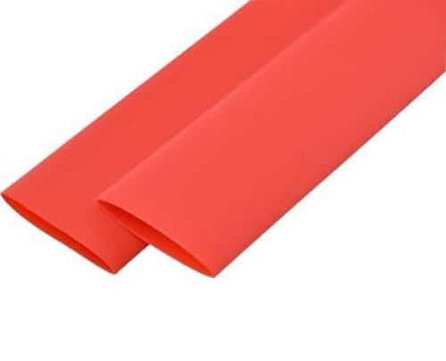 Термоусадочная трубка 8mm красная (1м)