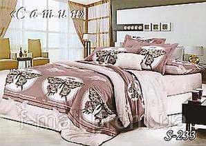 Комплект постельного белья Тет-А-Тет ( Украина ) Сатин семейное (S-233)