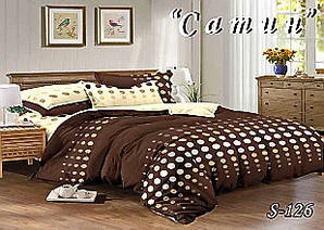 Комплект постельного белья Тет-А-Тет ( Украина ) Сатин семейное (S-126)