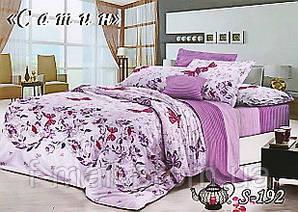 Комплект постельного белья Тет-А-Тет ( Украина ) Сатин семейное (S-192)