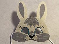 Карнавальная маска Зайчика, фото 1