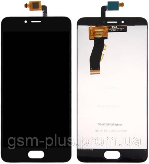 Дисплей Meizu M5s (M612) complete Black