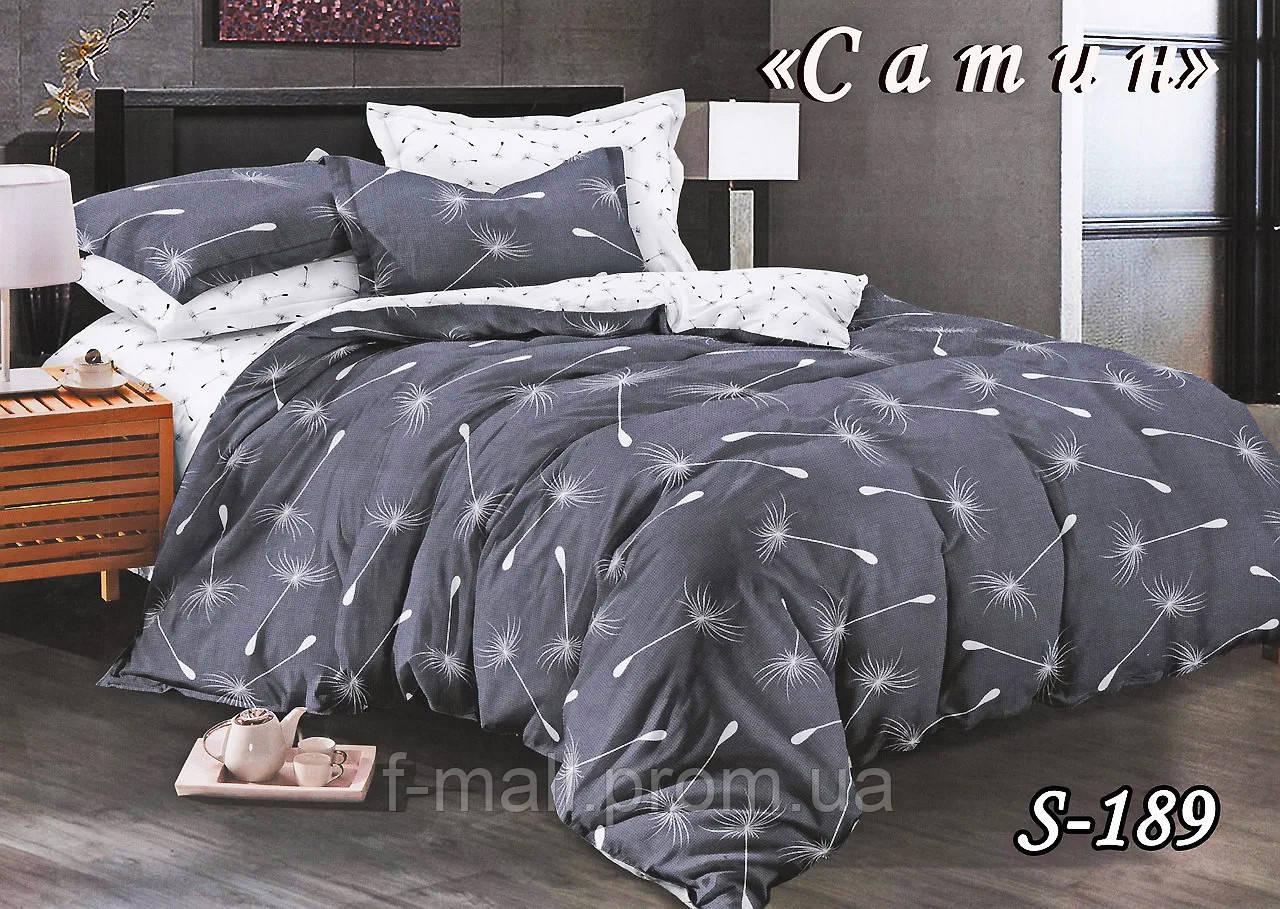 Комплект постельного белья Тет-А-Тет ( Украина ) Сатин семейное (S-189)