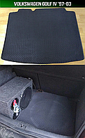 ЕВА коврик багажника на Volkswagen Golf IV '97-03. Автоковрики EVA Фольксваген Гольф 7 Фольцваген