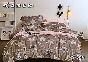 Комплект постельного белья Тет-А-Тет ( Украина ) Сатин семейное (S-330)