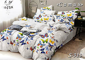 Комплект постельного белья Тет-А-Тет ( Украина ) Сатин семейное (S-313)