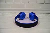 Наушники беспроводные Beats Studio TM-019 Bluetooth (by Dr. Dre) чёрно-синие, фото 5