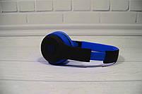 Наушники беспроводные Beats Studio TM-019 Bluetooth (by Dr. Dre) чёрно-синие, фото 7