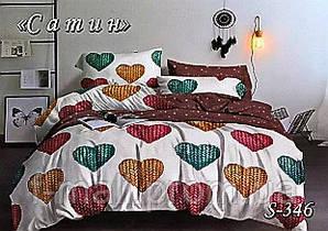 Комплект постельного белья Тет-А-Тет ( Украина ) Сатин семейное (S-346)