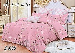 Комплект постельного белья Тет-А-Тет ( Украина ) Сатин семейное (S-239)