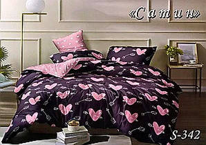 Комплект постельного белья Тет-А-Тет ( Украина ) Сатин семейное (S-342)