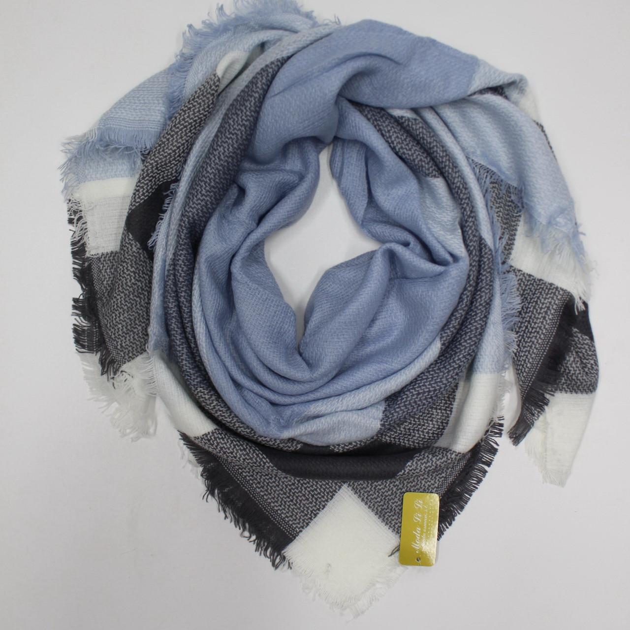 Большой теплый платок Cashmere 214002