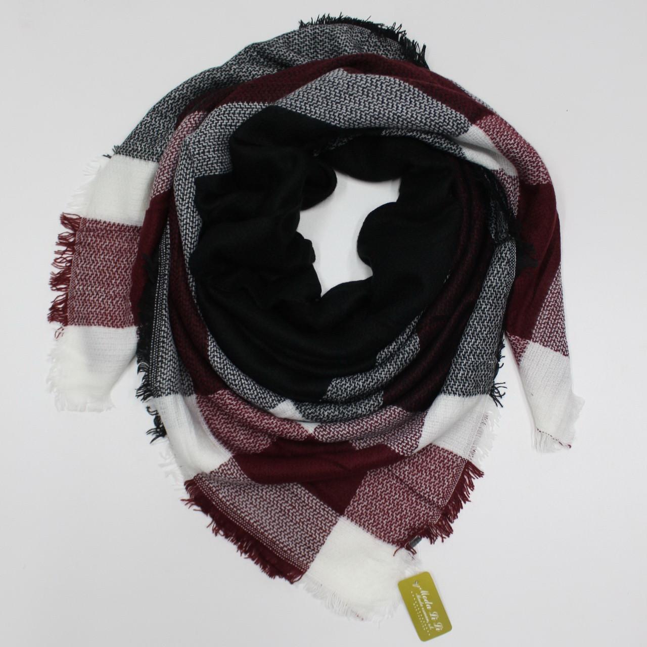 Большой теплый платок Cashmere 214010