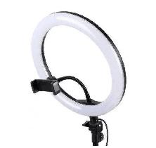 Селфи Лампа кольцо на штативе LED RING с Держателем для Телефона 1 м D=26 см Ring Fill Light, фото 3