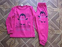 Детская пижама для девочки 4. 6. 8. 10. 12. 14 лет  Турция   интерлок