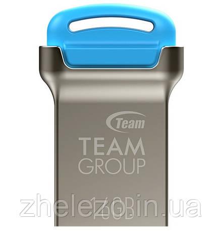 Флеш-накопичувач USB 16GB Team C161 Blue (TC16116GL01), фото 2