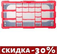 "Органайзер для метизов Intertool - 19,5"" 495 x 255 x 160 мм 1 шт."