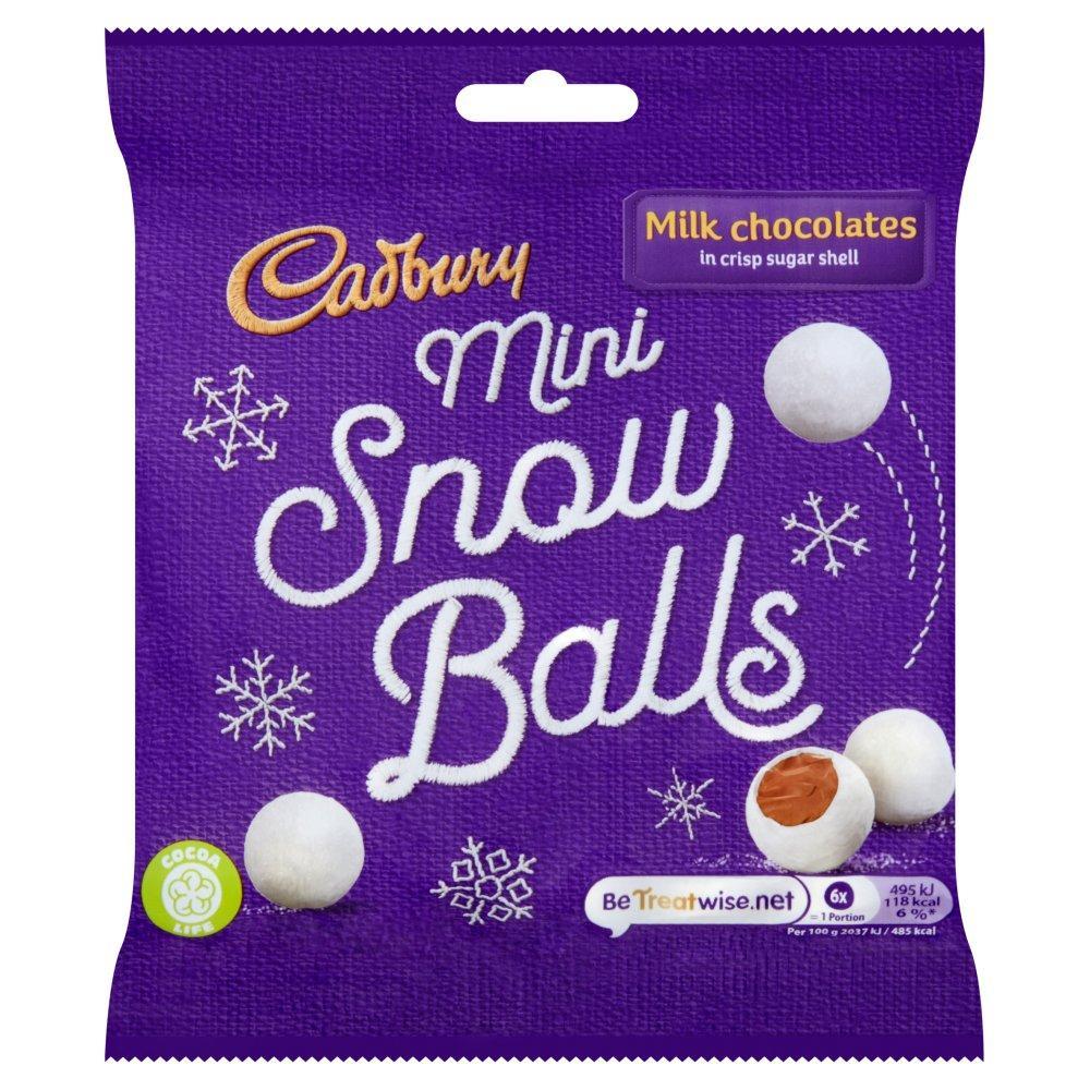 Cadbury Mini Snow Balls 80 g