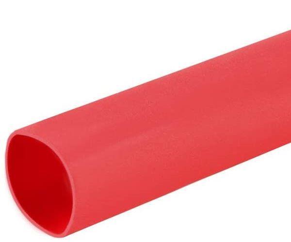Термоусадочная трубка 4mm красная (1м)