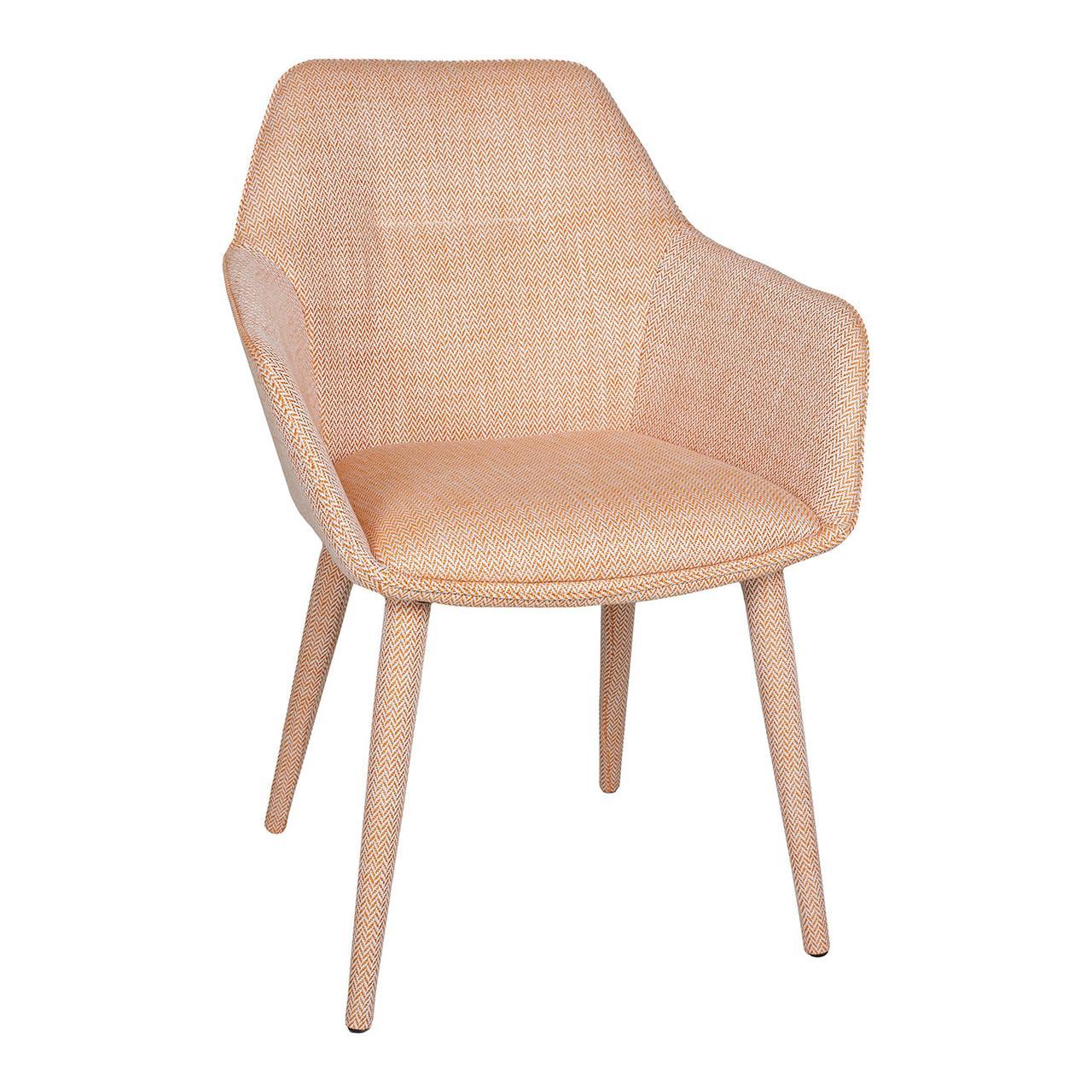 Кресло TORO (610*620*880 текстиль) оранж