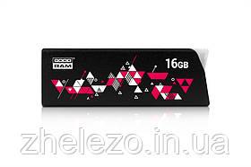 Флеш-накопичувач USB3.0 16GB GOODRAM UCL3 (Cl!ck) Black (UCL3-0160K0R11), фото 3