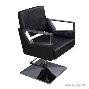 Парикмахерское кресло гидравлика на квадрате для стрижки Style016