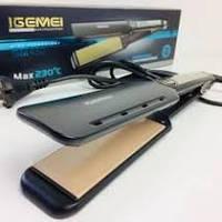 Утюжок выпрямитель для волос IGEMEI GM-450, фото 1