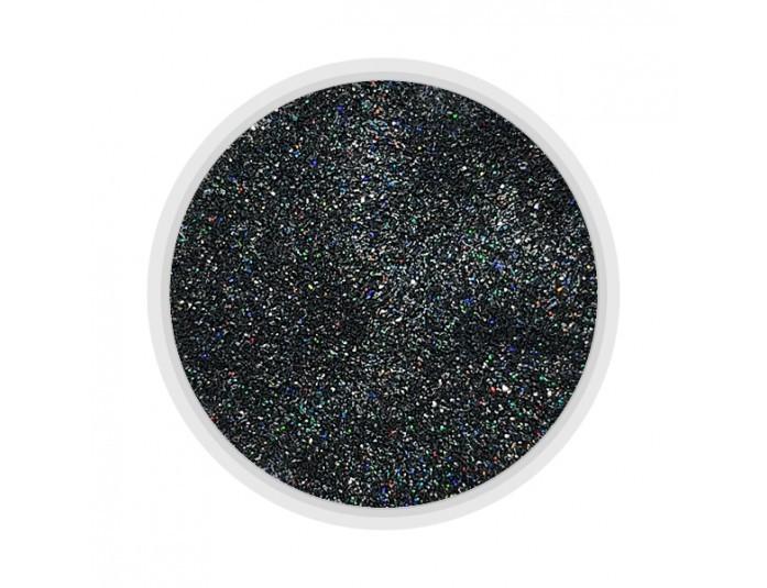 MART Зеркальный блеск (115) черный голографик