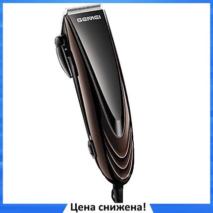 Машинка для стрижки волосся GEMEI GM-813 з насадками - Професійна бездротова машинка, тример, бритва, фото 2