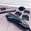 Машинка для стрижки волосся GEMEI GM-813 з насадками - Професійна бездротова машинка, тример, бритва, фото 6