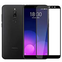 Защитное стекло для Meizu M6t на весь экран 5д полноэкранное стекло на телефон мейзу м6т черное NFD
