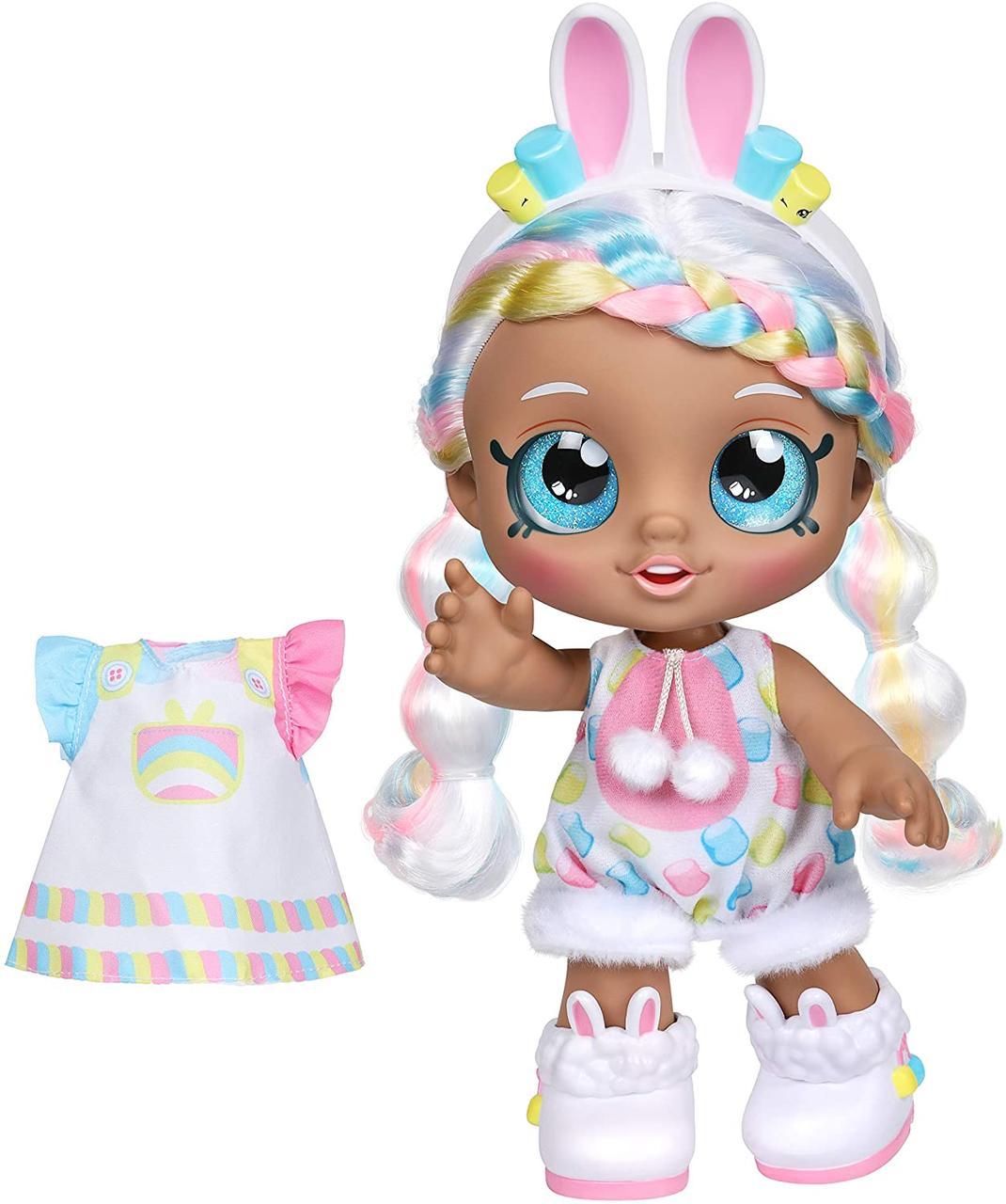 Кинди Кидс Марша Меллоу Наряжай друга Зайка Kindi Kids Dress Up Friends Pre-School Marsha Mello Bunny 50064