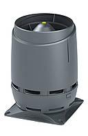 Вентиляционный выход VILPE 160 S FLOW, основание 300 х 300 мм Серый