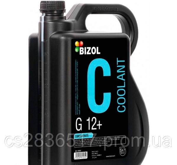 Антифриз концентрат  BIZOL Frostschutz G12 PLUS  (красный) 5л