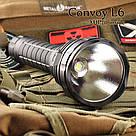 Фонарь тактический Convoy L6 XHP 70.2 4000K 3800Lm, фото 2