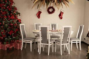 Обідній комплект: стіл Лео і стільці Марек 4 ТМ Марко