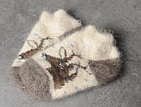 Детские носочки из натурального козьего пуха, мягкие теплые носочки,  15-18 см, фото 1