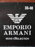 """Женские носки """"в стиле"""" """"Emporio Armani"""". Спорт. р. 36-40., фото 4"""