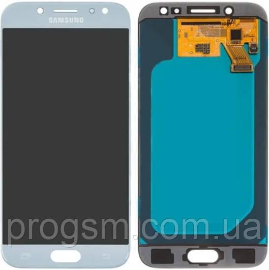 Дисплей Samsung Galaxy J5 Pro 2017 SM-J530F H/Q complete Blue