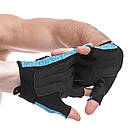 Перчатки для фитнеca HARD TOCH FG-008, размер L, фото 2